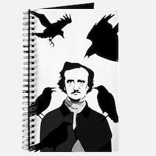 Edgar Allan Poe with Ravens Journal