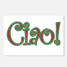 Ciao Bella, Ciao Baby, Ci Postcards (Package of 8)