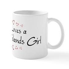 British Virgin Islands Girl Mug