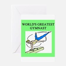 gymnist gifts t-shirts Greeting Card