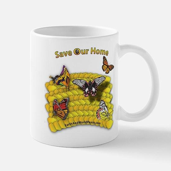 Save Our Home: Lioness Mug