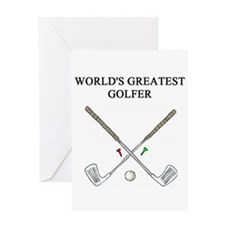 golf humor gifts t-shirts Greeting Card