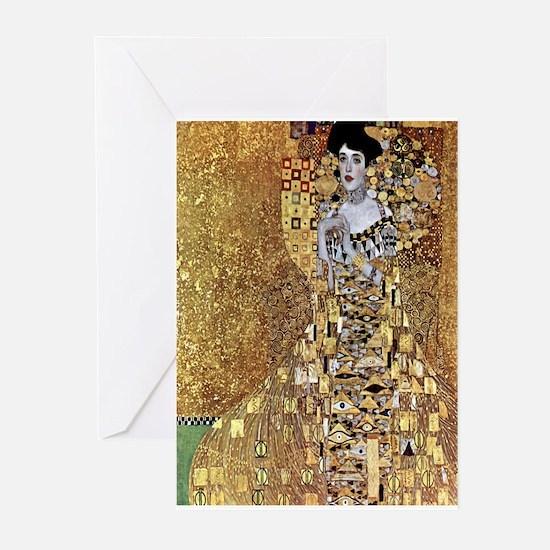 Adele Gustav Klimt Greeting Cards