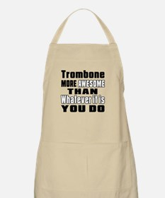 Trombone More Awesome Apron