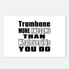 Trombone More Awesome Postcards (Package of 8)