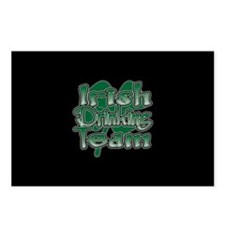 Irish Drinking Team V2 Postcards (Package of 8)
