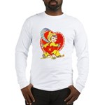 Slide Into Your Heart Long Sleeve T-Shirt