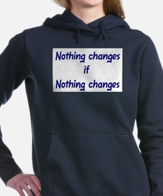 Funny Recovery Women's Hooded Sweatshirt