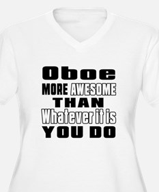 Oboe More Awesome T-Shirt