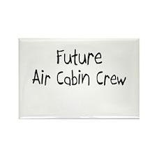 Future Air Cabin Crew Rectangle Magnet