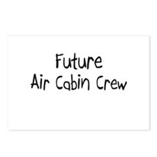 Future Air Cabin Crew Postcards (Package of 8)
