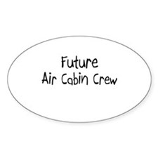 Future Air Cabin Crew Oval Decal
