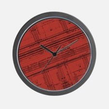 Architectural Series 1 Wall Clock