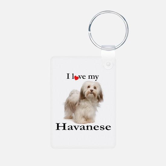 Love My Havanese Keychains