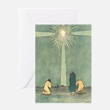 Star of Bethlehem Greeting Cards