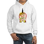 Feather or Not Hooded Sweatshirt