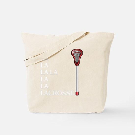 Cute Lacross player Tote Bag