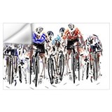 Bicycling Wall Decals