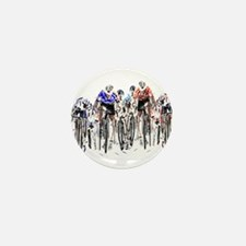 Cyclists Mini Button (10 pack)