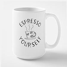 Coffee Espresso Yourself Funny Mugs