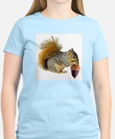 Squirrel Eating Acorn T-Shirt