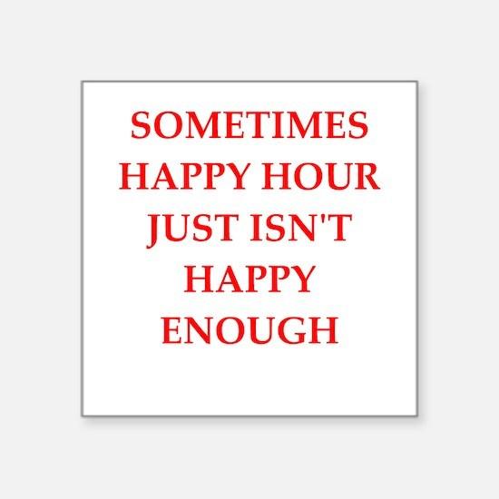 happy hour Sticker