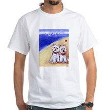 Westies at the beach Shirt