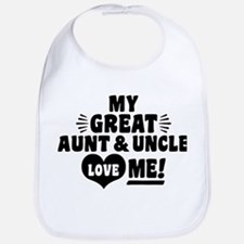 My Great Aunt And Uncle Love Me Bib