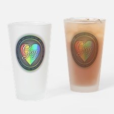 Gay Lives Matter Drinking Glass