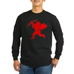 Cupid Long Sleeve Dark T-Shirt