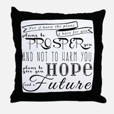 Unique Christian faith Throw Pillow