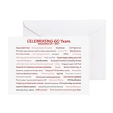 60th birthday Greeting Cards