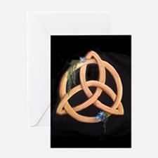 Celtic Triskele Knot Greeting Cards