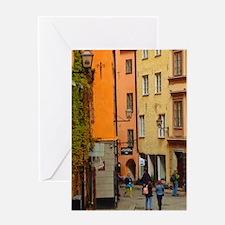 A Taste of Stockholm Greeting Cards