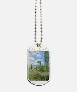 Unique Poppies france Dog Tags