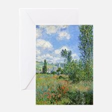 Unique Poppies france Greeting Card