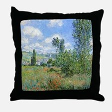 Cool Poppies france Throw Pillow