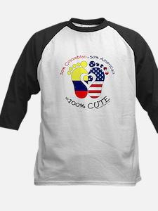 Colombian American Baby Baseball Jersey