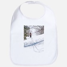 Lone Cross Country Skier Bib