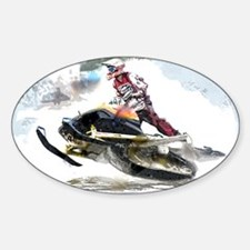 Snowmobile Competition Decal