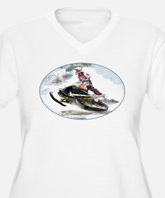 Snowmobile Competition Plus Size T-Shirt