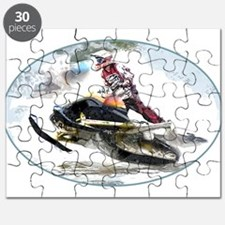 Snowmobile Competition Puzzle