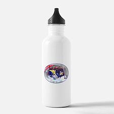 Hockey Score Attempt f Water Bottle