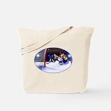 Unique Mens hockey goalie Tote Bag