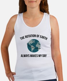 The Rotation of Earth Tank Top