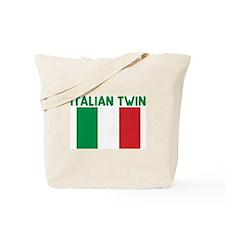ITALIAN TWIN Tote Bag