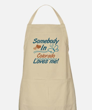 Somebody In Colorado Loves Me Apron