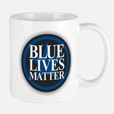 Blue Lives Matter Mugs
