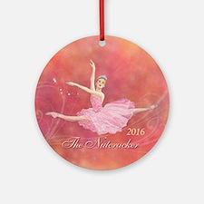 2016 Nutcracker Ballet Round Ornament