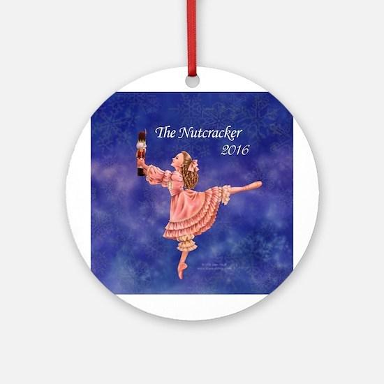2016 Nutcracker Round Ornament